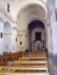 62 -Viterbo. Piazza del Plebiscito, interno della chiesa-santo-angelo.