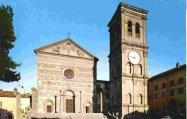 129 -Viterbo - Il Santuario di S. Maria della Quercia.A circa 3 Km da Viterbo troviamo questo santuario rinascimentale (1470-1525) ricco di pregevoli opere di illustri artisti (Della Robbia, Sangallo, altri). Pittoresco il piccolo chiostro. Annesso un museo (ex voto)