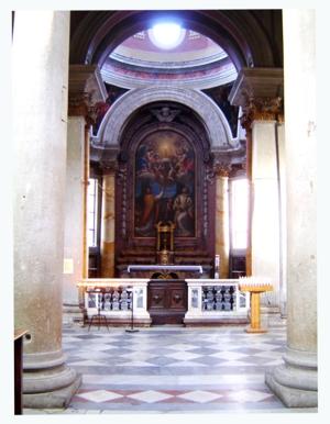 26 -Interno Cattedrale San lorenzo. navata destra