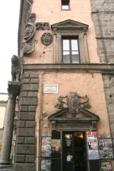 55 -Viterbo.La torre-del-Comune particolare.