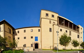 89 -PanoramicaRocca Albornoz - Museo nazionale Etrusco (Viterbo)
