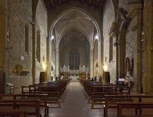 113 -Viterbo -Chiesa di S. Francesco, interno