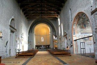 115 -Viterbo - Chiesa di Santa Maria della Verità. Con la cappella Mazzatosta ornata di bellissimi affreschi (Storie della Vergine di Lorenzo da Viterbo e aiuti-1469)