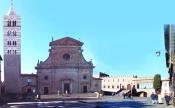 21 -Viterbo. Piazza San Lorenzo, ( Piazzale del Duomo), una delle più belle piazze del mondo.