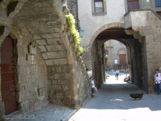 74 -Viterbo. Quartiere San Pellegrino, particolare