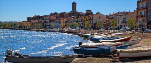 29 -Lago di Bolsena. Marta, il bellissimo borgo di pescatori