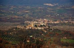 63 - Panorama di Mugnano in_Teverina frazione a tre km. da Bomarzo .