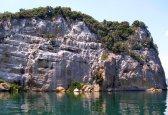 70 -Lago di Bolsena isola Bisentina..