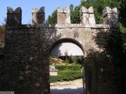22 -Bomarzo. Entrata al Parco dei Mostri, particolare