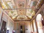 39 -Caprarola. palazzo Farnese. Atrio d'ingresso