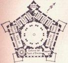 41 -Caprarola. palazzo Farnese. Pianta piano Nobile