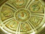 43 -Caprarola. palazzo Farnese. Soffitto della cappella.