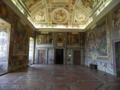 46 -Caprarola. palazzo Farnese. Sala dei Fasti Farnesiani