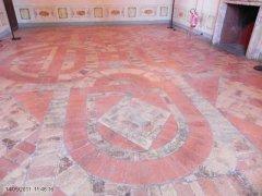 47 -Caprarola. palazzo Farnese. pavimenti
