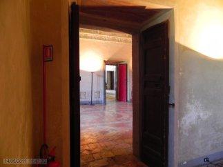 48 -Caprarola. palazzo Farnese. Uno scorcio.