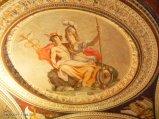 50 -Caprarola. palazzo Farnese. Ermes e Athena