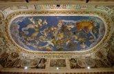 55 -Caprarola. palazzo Farnese. Sala del mappamondo soffitto dettaglio.
