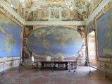 53 -Caprarola. palazzo Farnese. Sala del mappamondo, La Sala del Mappamondo, dove è rappresentato il mondo allora conosciuto dalle descrizioni dei viaggiatori.