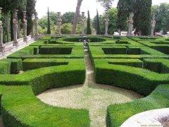 57 -Caprarola. palazzo Farnese, giardini.