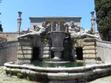 22 -Caprarola. palazzo Farnese, -Fontana dei fiumi, dettaglio.
