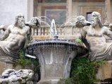 23 -Caprarola. palazzo Farnese, -Fontana dei fiumi, particolare.