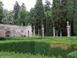 62 -Caprarola. palazzo Farnese, giardini.