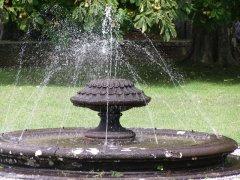 68 -Caprarola. palazzo Farnese, fontana particolare.