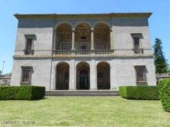 58 -Caprarola. palazzo Farnese, la palazzina.