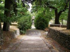 74 -Caprarola. palazzo Farnese, giardini.
