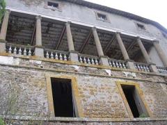 68 -Mugnano -Il Palazzo Orsini, la loggia cinquecentesca.