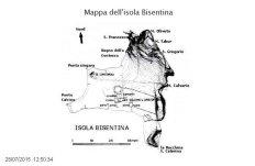 53 -Mappa dell'isola Bisentina