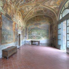 29 -Villa Lante a Bagnaia - Palazzina Gambara - Loggia