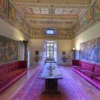 32 -Bagnaia-Villa Lante a Bagnaia - Palazzina Gambara - Salone dei Cesari