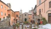 18 -Scorcio con Chiesa - Largo del Plebiscito (Montefiascone)