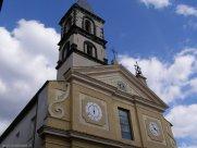 13 -Grotte di Castro - La. Chiesa di San Pietro Apostolo, risalente all'XI secolo, la cui costruzione fu voluta da Matilde di Canossa