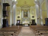 12 -San_Lorenzo_Nuovo-convento. Chiesa dei Frati Cappuccini. L'interno, a navata unica con sei cappelle laterali, venne finemente decorato dal frate cappuccino Fedele da San Biagio.
