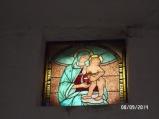 21 -San_Lorenzo_Nuovo-chiesa_di_Torano interno dettaglio affresco della seconda metà del '400 con Bambino benedicente.