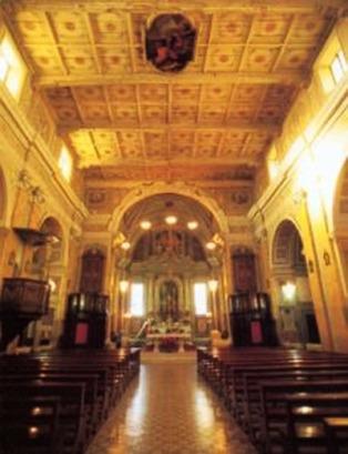 12 -Valentano. Collegiata di San Giovanni Evangelista, interno
