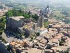 23 -Montefiascone. Rocca dei Papi, panorama.