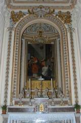 34 -La cappella nuova del MiracoloTela di Francesco Trevisani Il Miracolo del Corporale