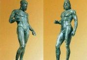 27 -Museo Archeologico Nazionale. Località Reggio Calabria Bronzi Riace. Le statue dei Bronzi di Riace sono considerate tra i capolavori scultorei più significativi dell'arte greca, e tra le testimonianze dirette dei grandi maestri scultori dell'età classica.