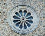 21 -Caccuri,chiesa-di-santa-maria, rosone esterno