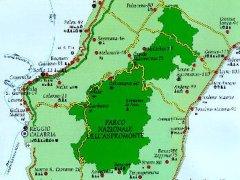 47 -Mappa del Parco ASPROMONT CUORE VERDE DEL MEDITERRANEO