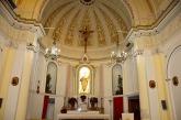 36 -Vibo Valentia . Interno altare Chiesa del Carmine sec XX