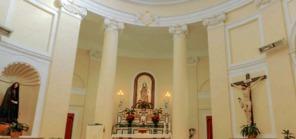37 -Interno, Madonna del Carmine di Vibo Valentia