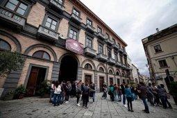 22 -Palazzo Gagliardi, nel centro storico di Vibo Valentia. Voluto come sede di rappresentanza per esaltare lo storico carattere di ospitalità della famiglia Gagliardi,