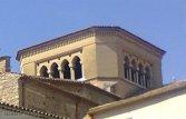 25 -Cosenza particolare del tiburio neogotico della cattedrale.