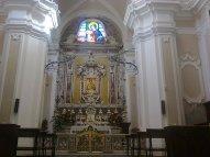 28 -Cosenza. Interno cattedrale.La cappella della Vergine del Pilerio