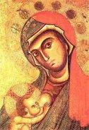 30 -Tela della Madonna del Pilerio, Arte Bizantina Duomo di Cosenza