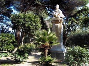 25 -Catanzaro Villa Margherita ...a ricordo del pittore calabrese Andrea Cefaly